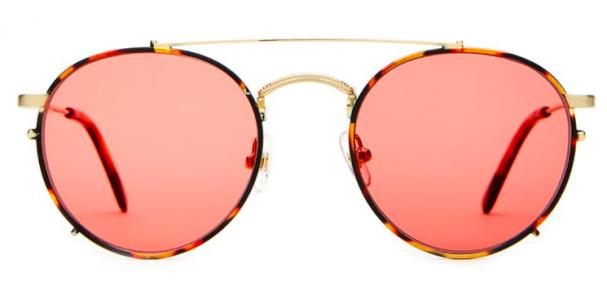 Rose Colored Sunglasses